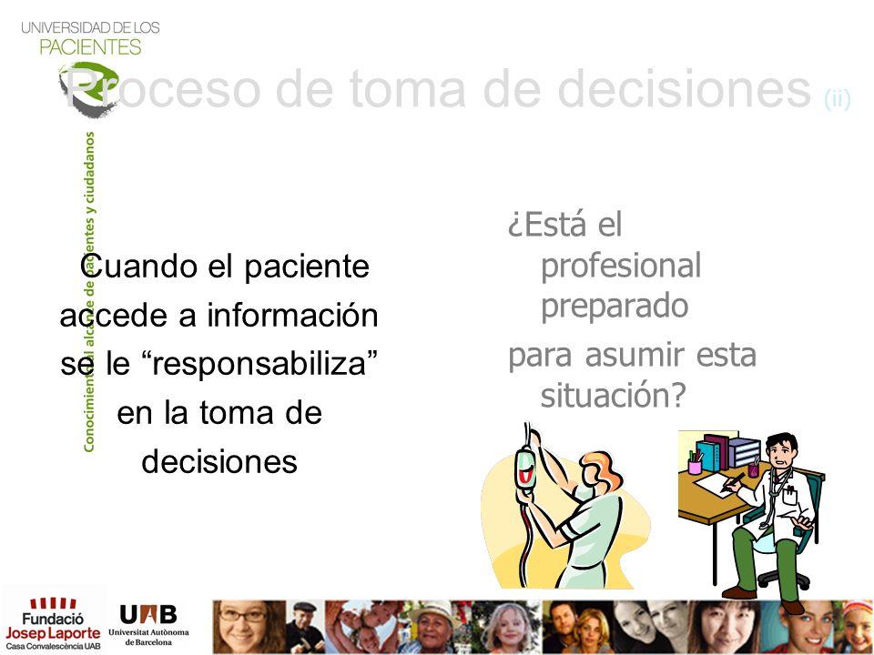 Proceso de toma de decisiones (ii)