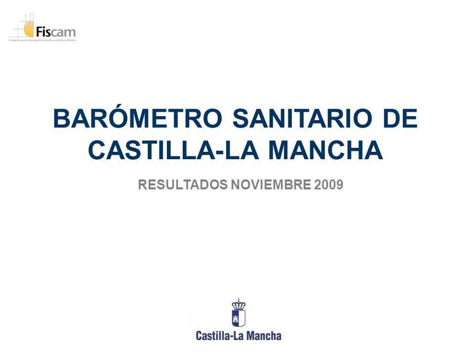 BARÓMETRO SANITARIO DE CASTILLA-LA MANCHA