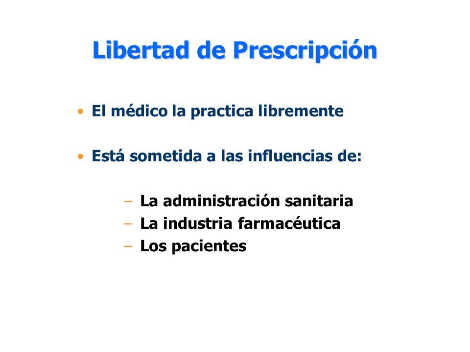 Libertad de Prescripción