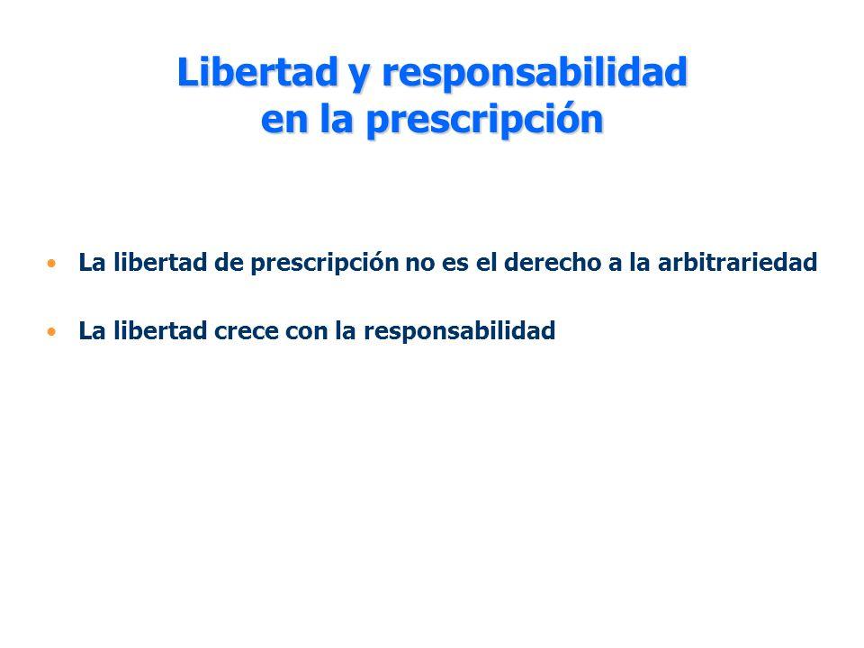 Libertad y responsabilidad en la prescripción
