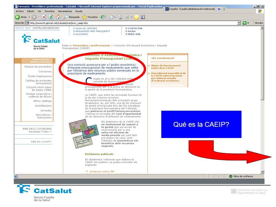 Qué es la CAEIP