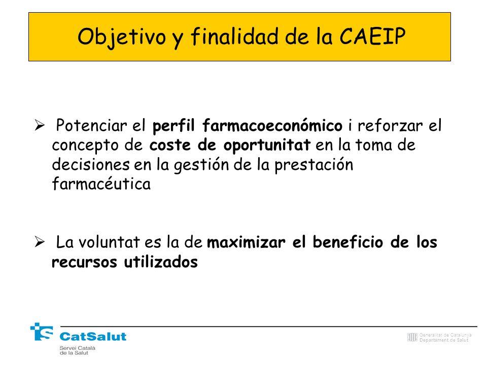 Objetivo y finalidad de la CAEIP