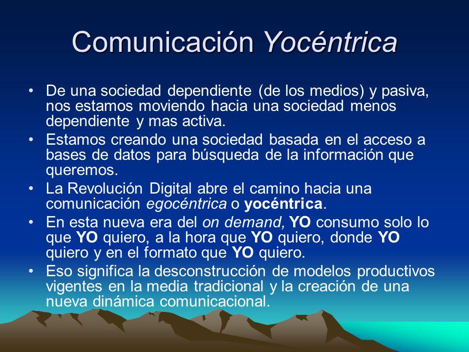 Comunicación Yocéntrica
