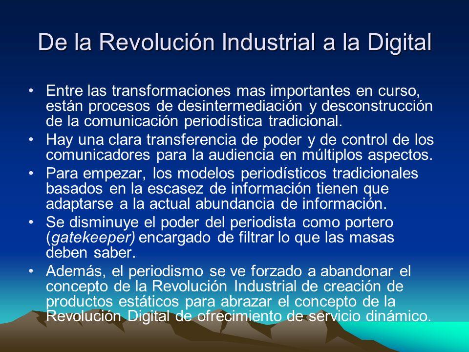 De la Revolución Industrial a la Digital