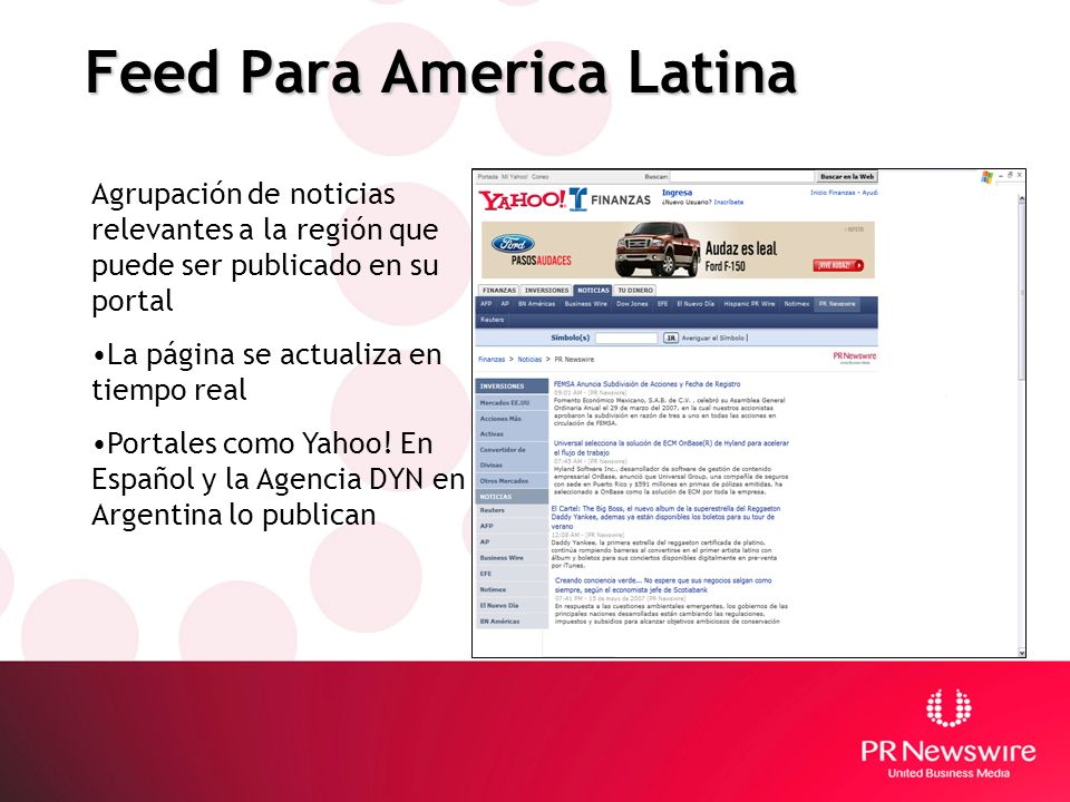 Feed Para America Latina
