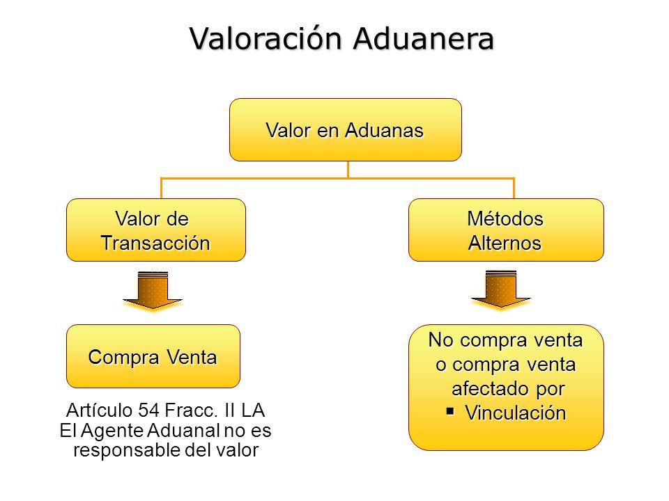 El Agente Aduanal no es responsable del valor