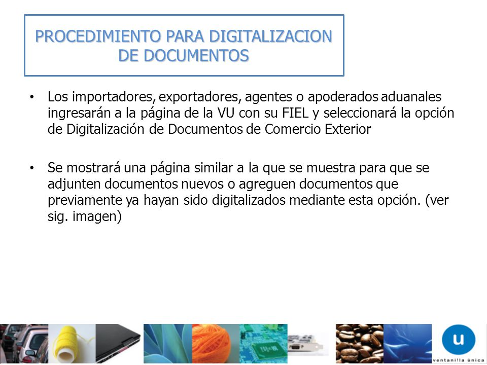 PROCEDIMIENTO PARA DIGITALIZACION DE DOCUMENTOS
