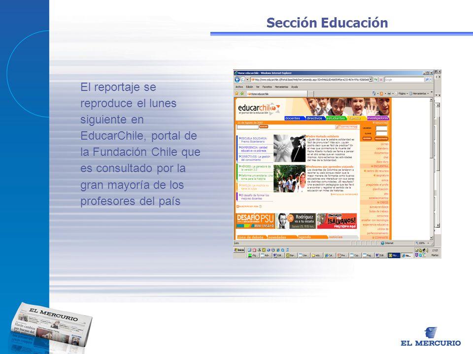Sección Educación