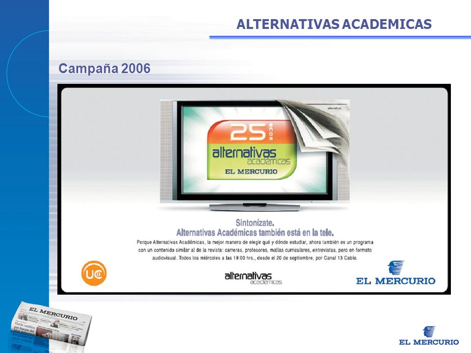 ALTERNATIVAS ACADEMICAS