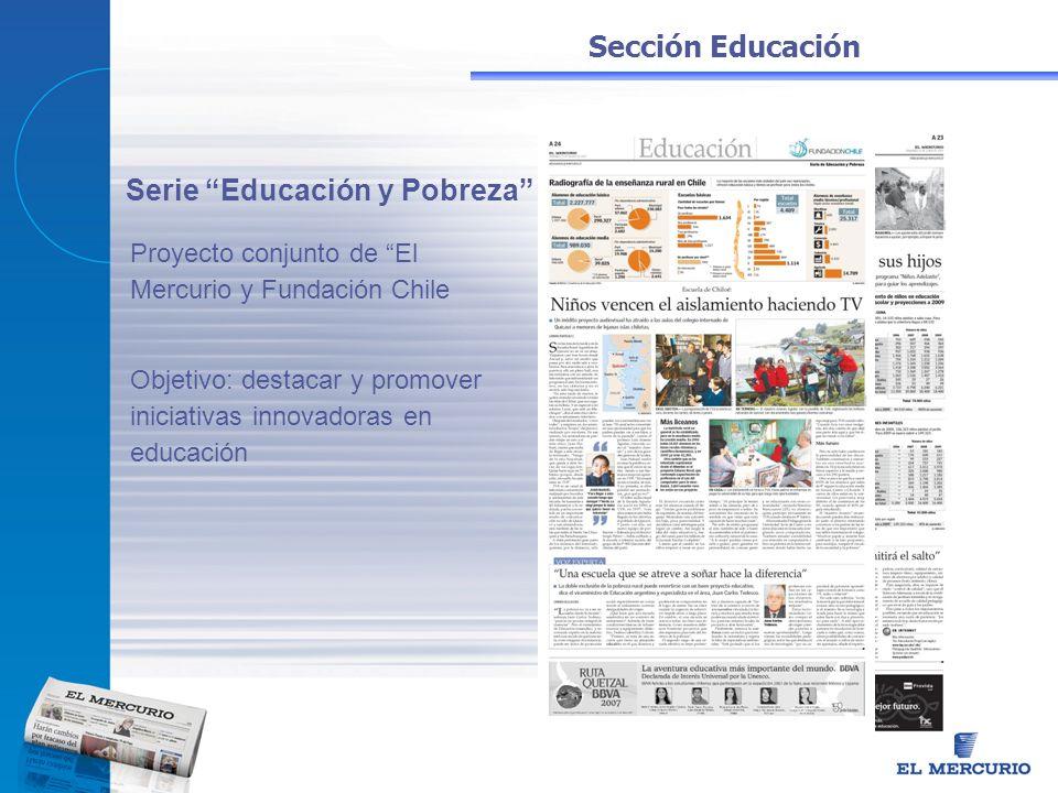 Serie Educación y Pobreza