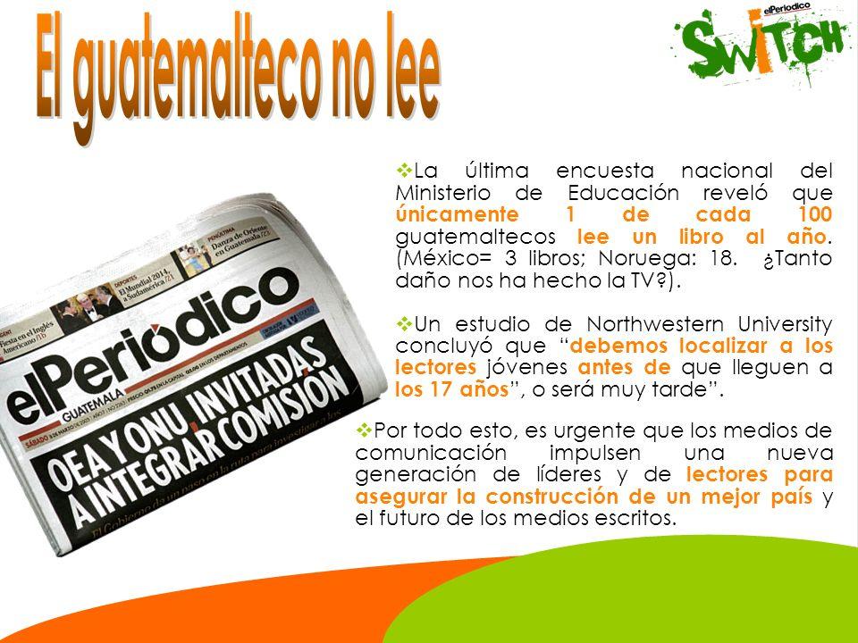 El guatemalteco no lee