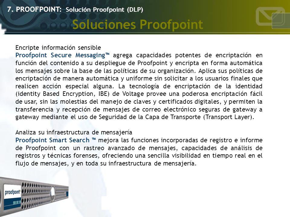 Soluciones Proofpoint