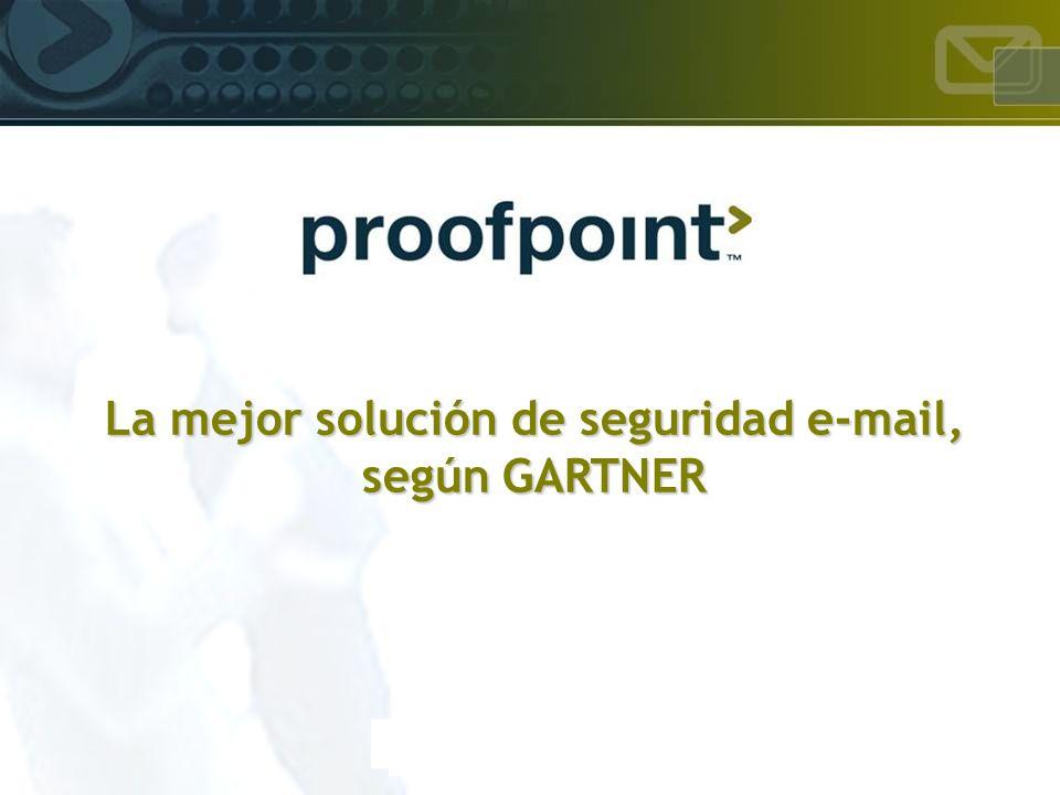 La mejor solución de seguridad e-mail, según GARTNER