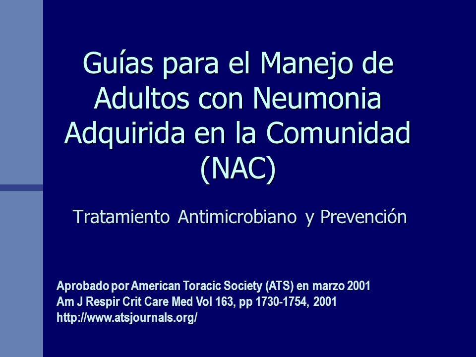 Tratamiento Antimicrobiano y Prevención
