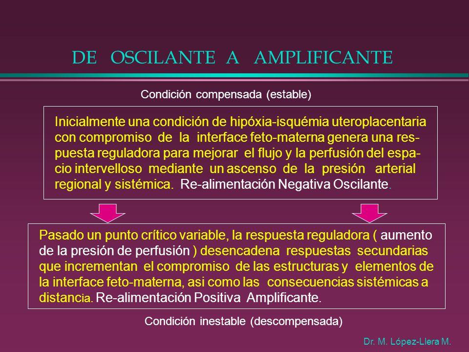 DE OSCILANTE A AMPLIFICANTE