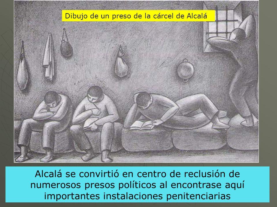 Dibujo de un preso de la cárcel de Alcalá