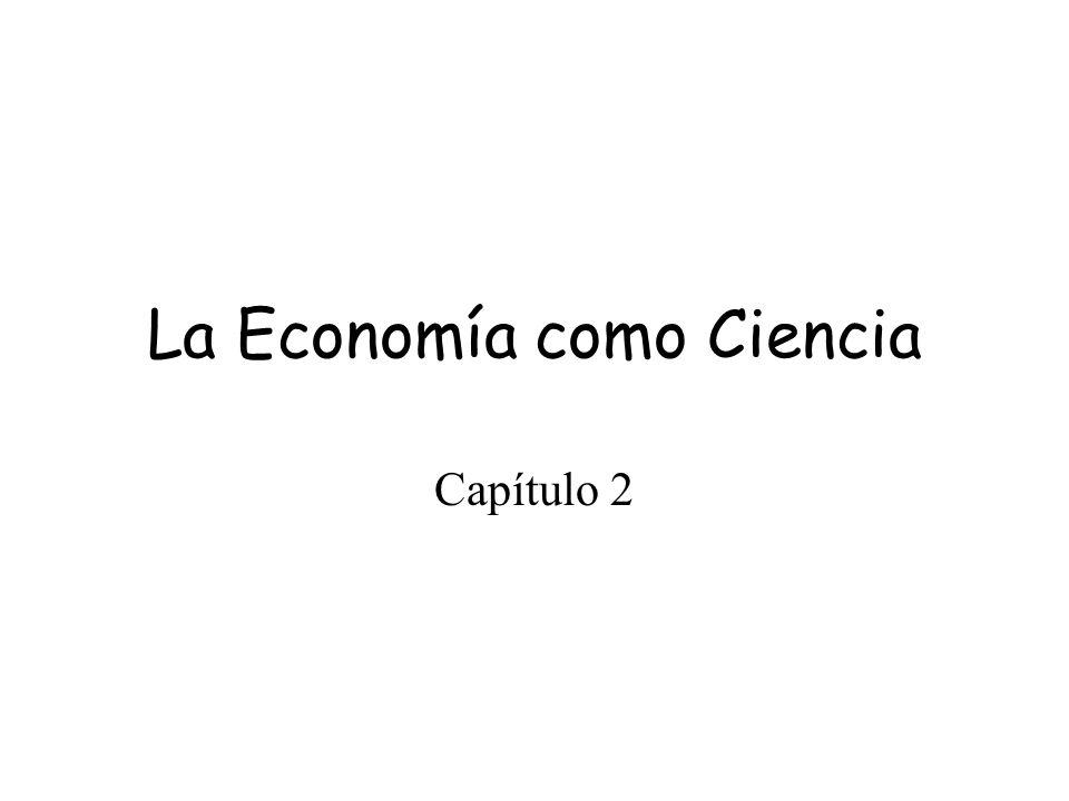 La Economía como Ciencia