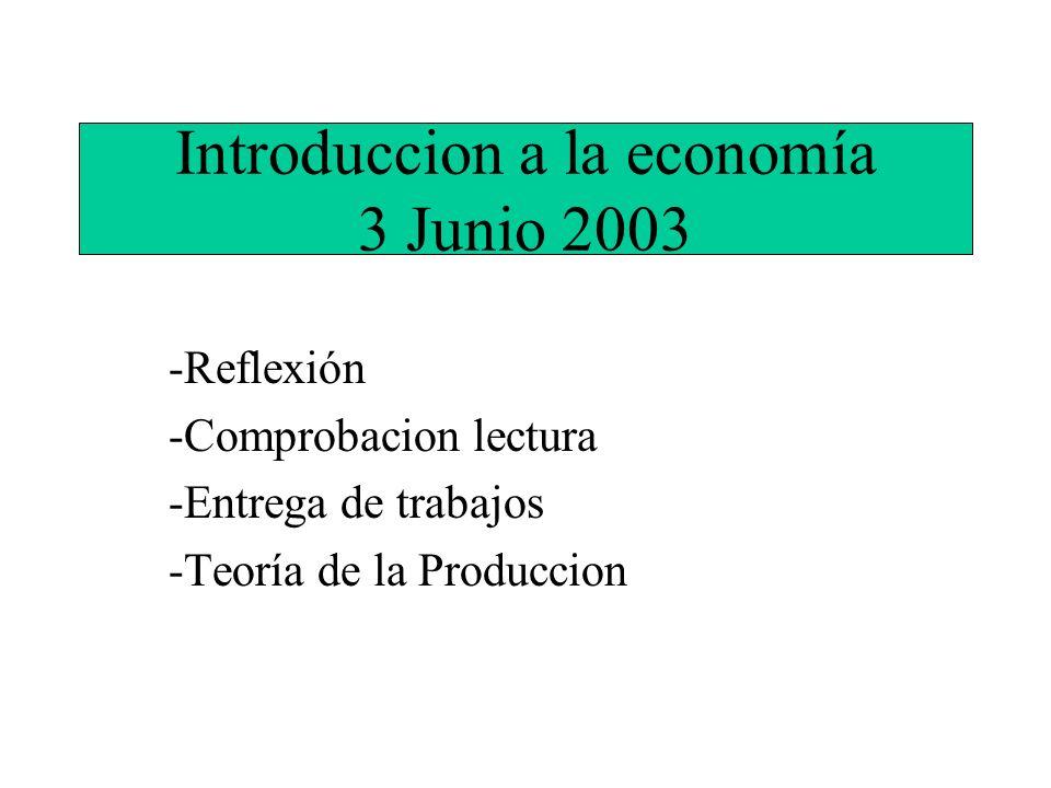 Introduccion a la economía 3 Junio 2003