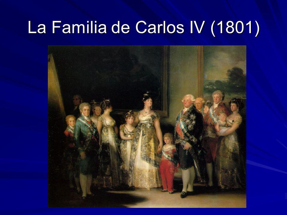 La Familia de Carlos IV (1801)