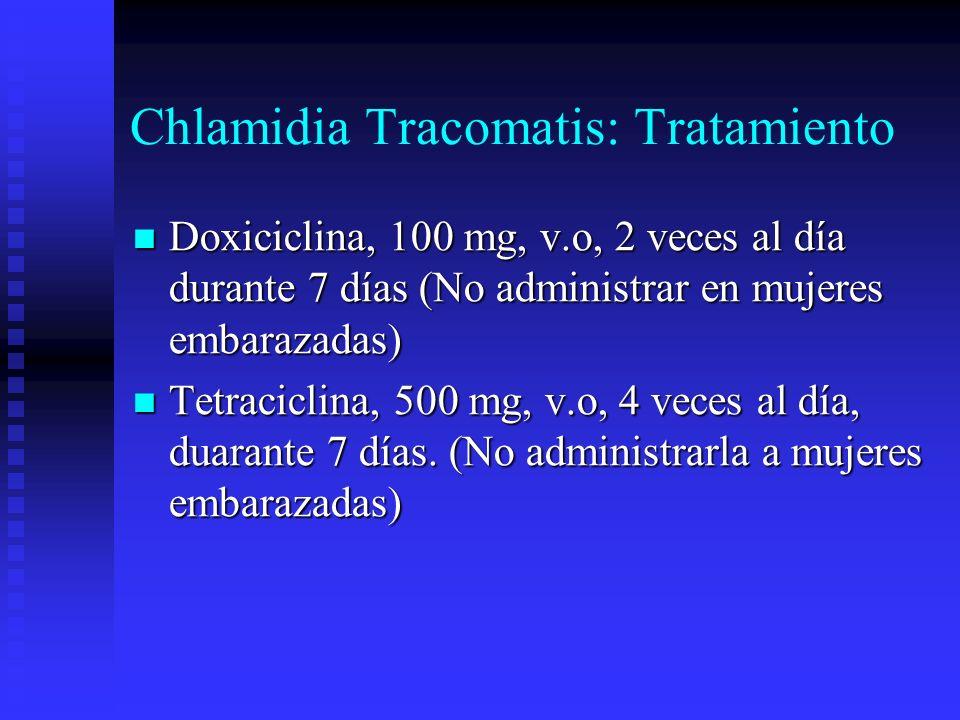 Chlamidia Tracomatis: Tratamiento