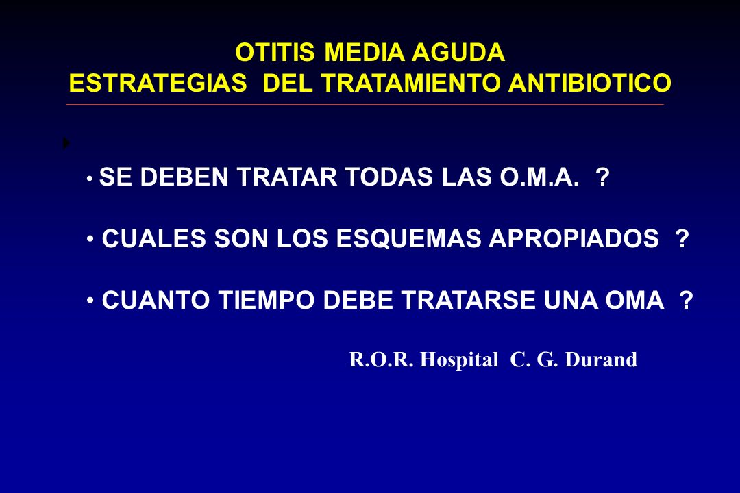 ESTRATEGIAS DEL TRATAMIENTO ANTIBIOTICO