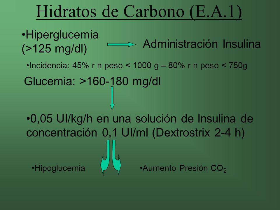 Hidratos de Carbono (E.A.1)