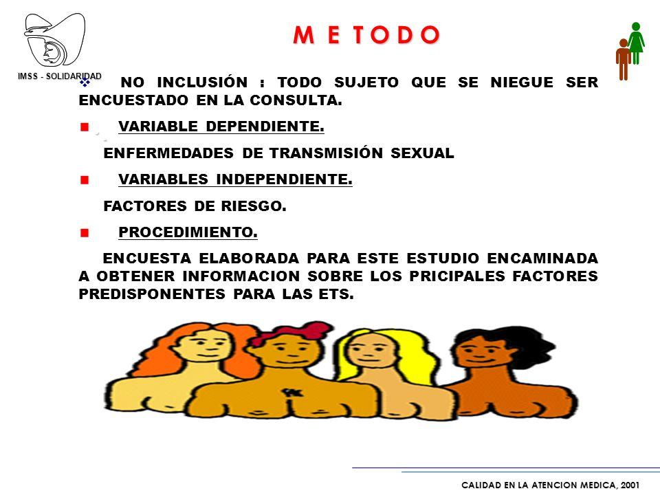 M E T O D O . 235,000 trípticos de Salud Sexual.