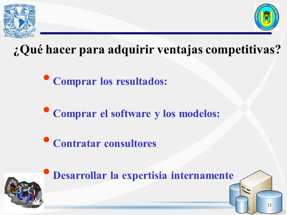 ¿Qué hacer para adquirir ventajas competitivas