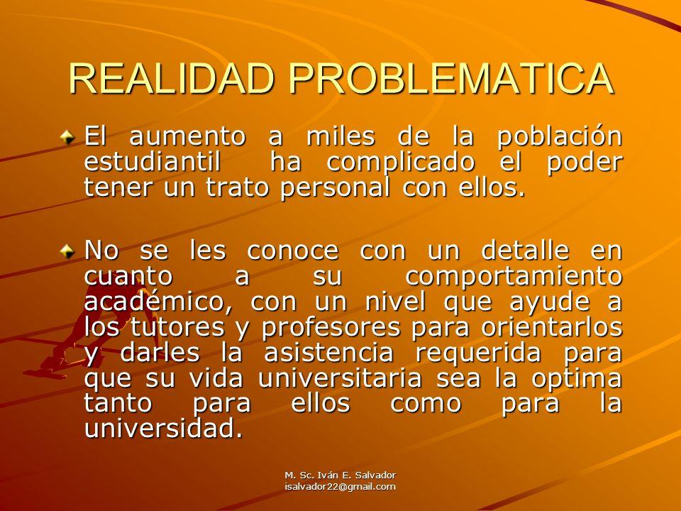 REALIDAD PROBLEMATICA