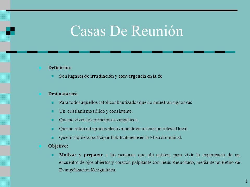 Casas De Reunión Definición: