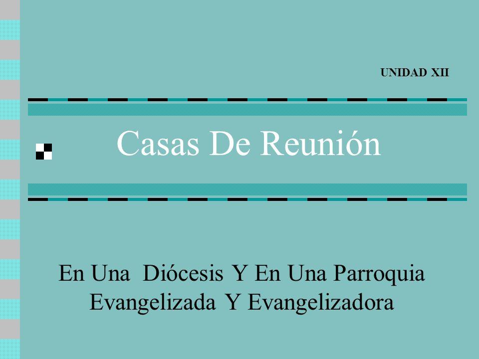 En Una Diócesis Y En Una Parroquia Evangelizada Y Evangelizadora