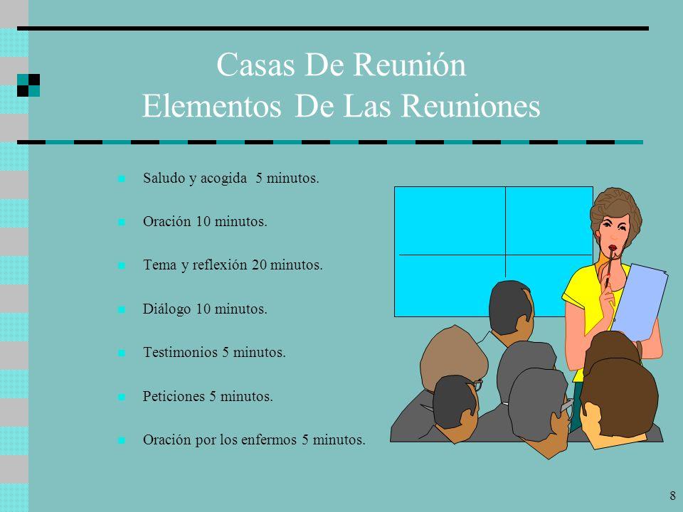 Casas De Reunión Elementos De Las Reuniones