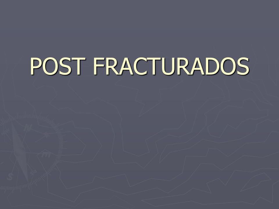 POST FRACTURADOS