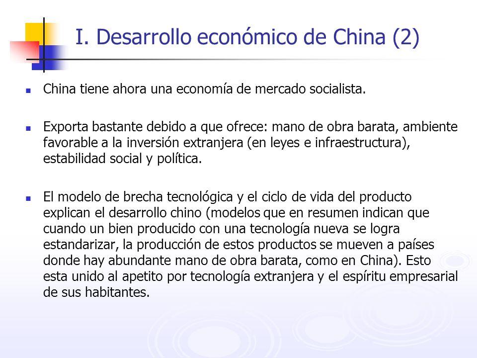 I. Desarrollo económico de China (2)