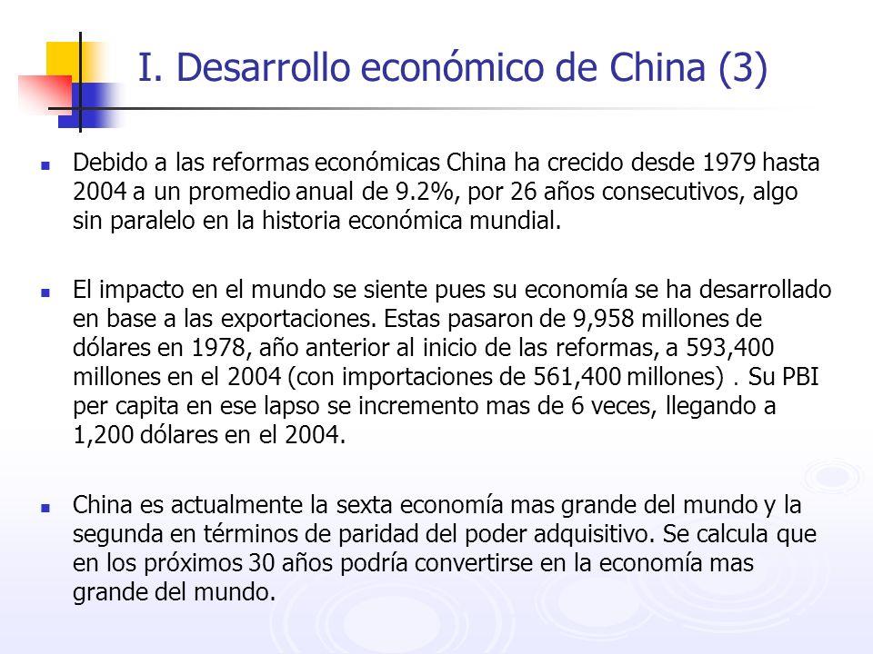 I. Desarrollo económico de China (3)