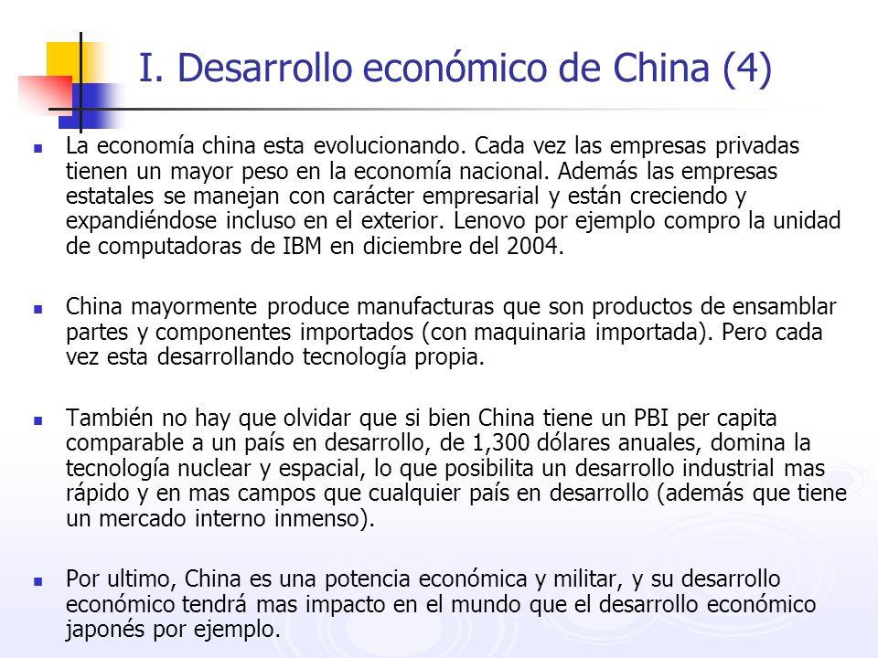 I. Desarrollo económico de China (4)