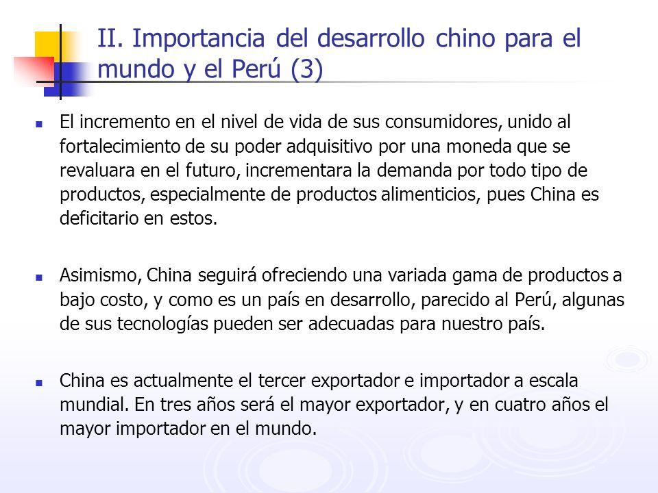 II. Importancia del desarrollo chino para el mundo y el Perú (3)