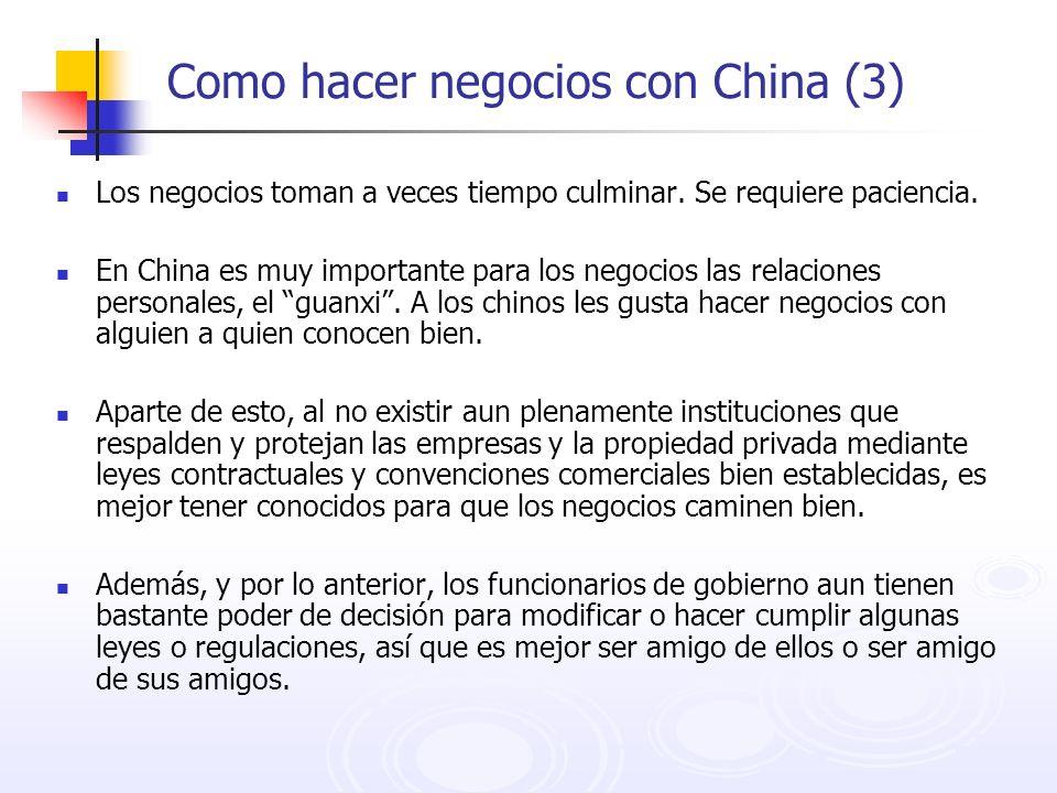 Como hacer negocios con China (3)