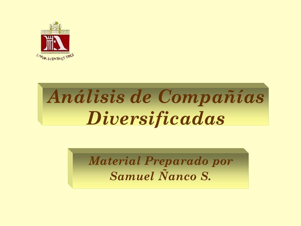 Análisis de Compañías Diversificadas