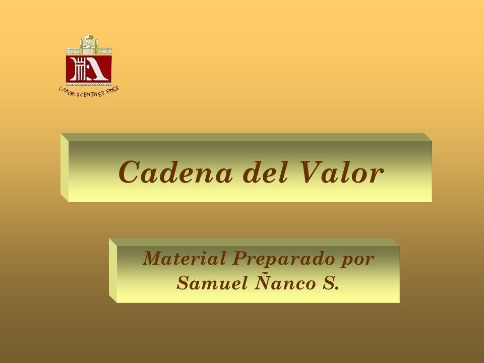 Material Preparado por Samuel Ñanco S.