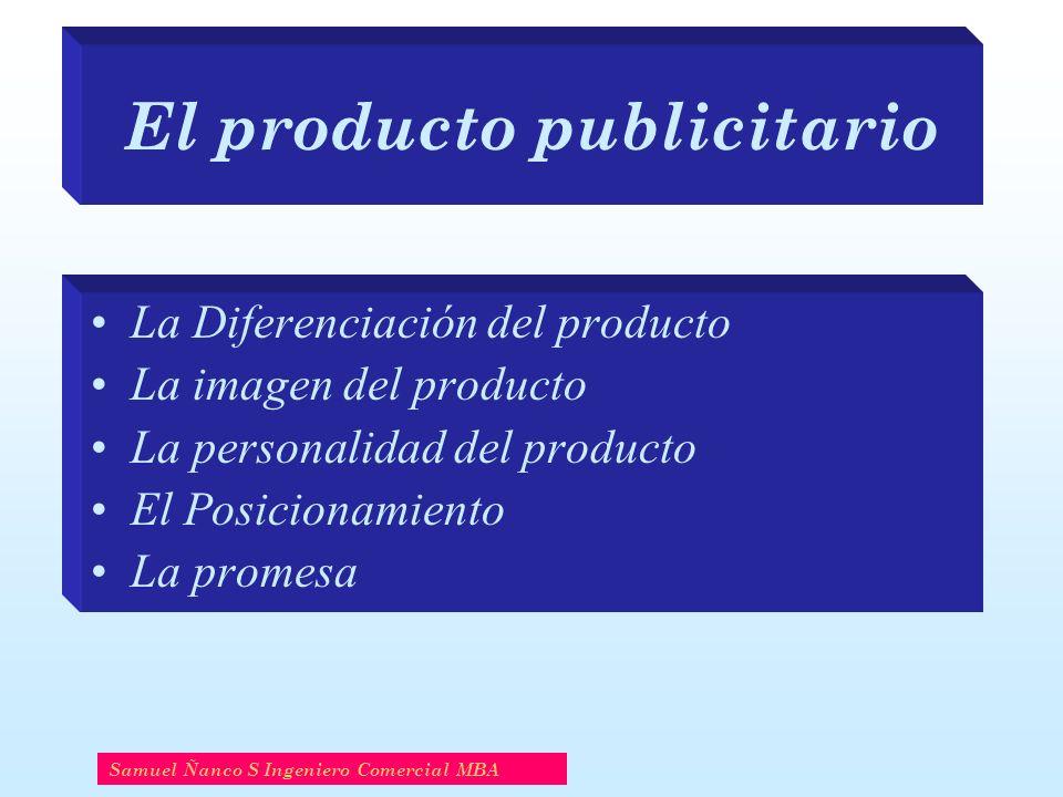 El producto publicitario