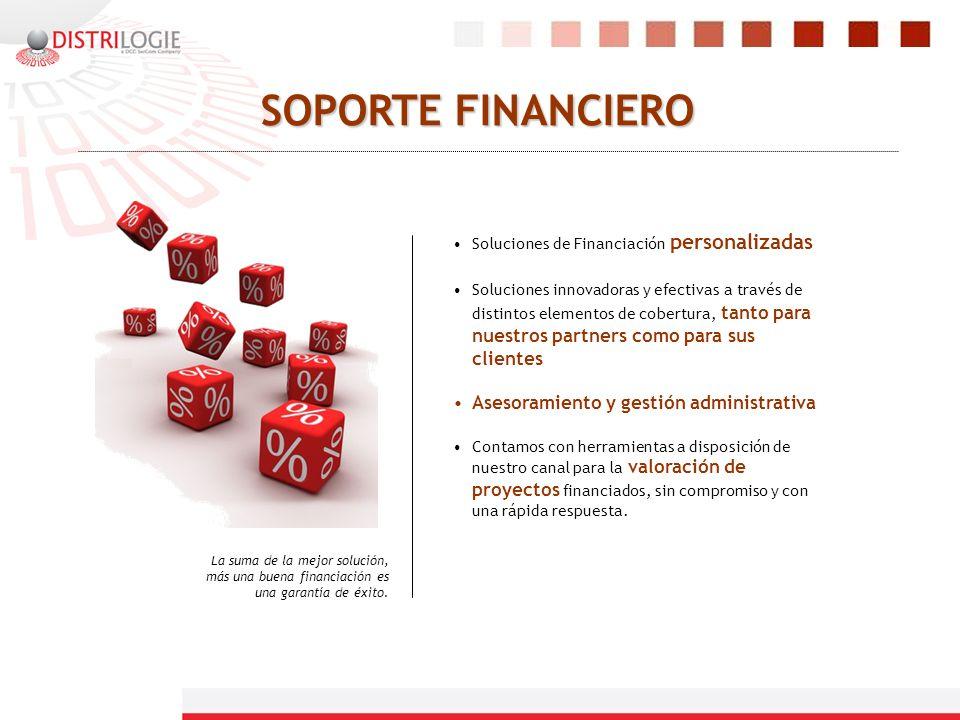 SOPORTE FINANCIERO Asesoramiento y gestión administrativa