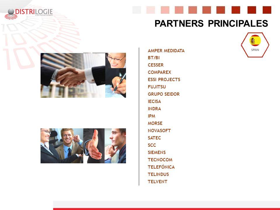 PARTNERS PRINCIPALES AMPER MEDIDATA BT/BI CESSER COMPAREX