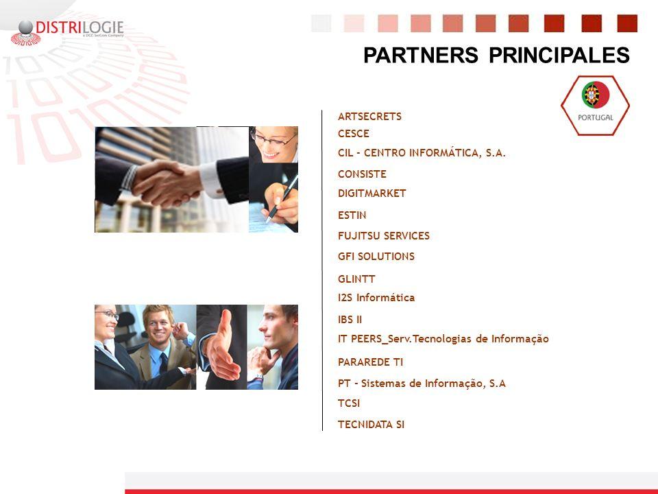 PARTNERS PRINCIPALES ARTSECRETS CESCE CIL - CENTRO INFORMÁTICA, S.A.