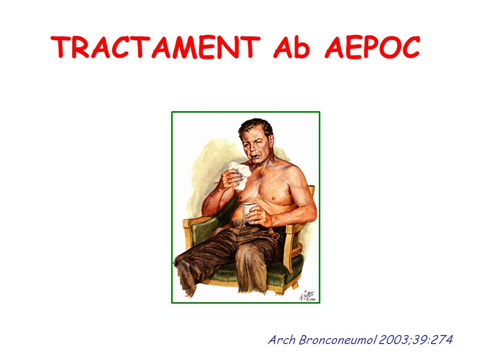 TRACTAMENT Ab AEPOC Arch Bronconeumol 2003;39:274