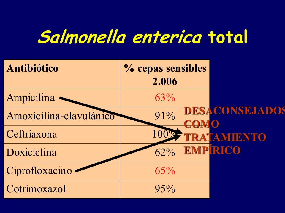 Salmonella enterica total