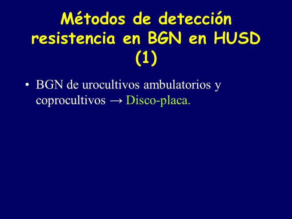 Métodos de detección resistencia en BGN en HUSD (1)