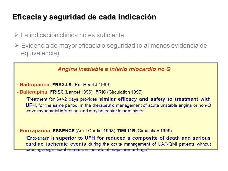 Angina inestable e infarto miocardio no Q