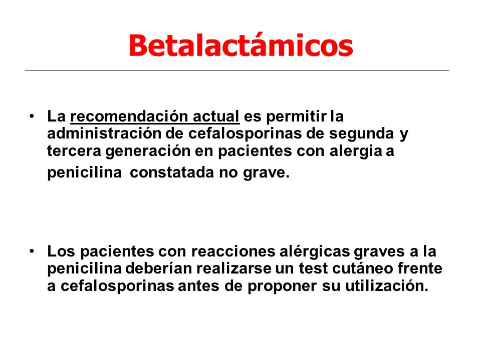 Betalactámicos
