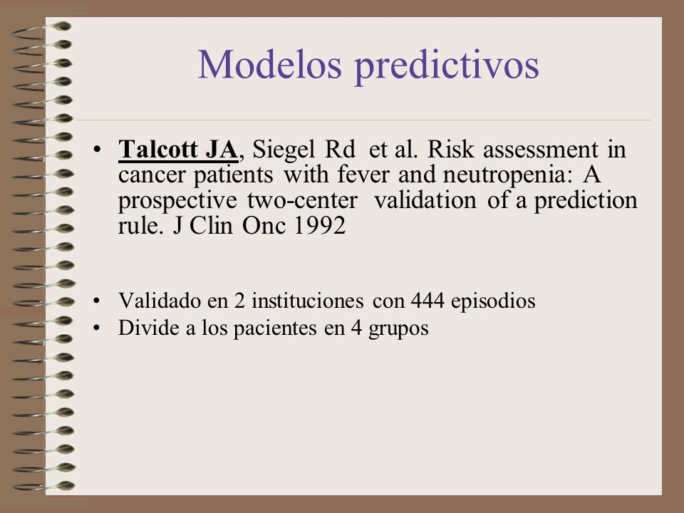 Modelos predictivos